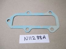 Gasket for closing plate on side of cyl. head.